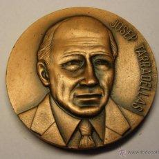 Trofeos y medallas: MEDALLA DE JOSEP TARRADELLAS, PRESIDENTE DE LA GENERALITAT.. Lote 50552111
