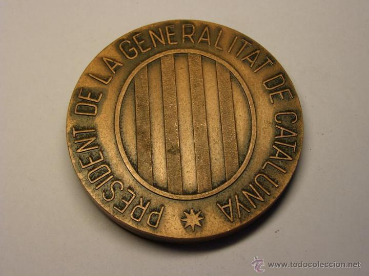 Trofeos y medallas: Medalla de Josep Tarradellas, presidente de la Generalitat. - Foto 2 - 50552111