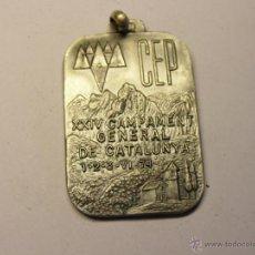 Trofeos y medallas: MEDALLA CEP, CAMPAMENTO GENERAL DE CATALUNYA. AÑO 1974.. Lote 50552179