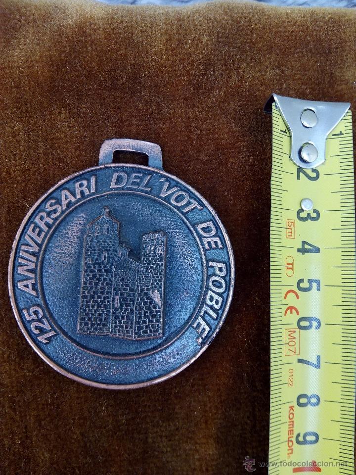 MEDALLA DEL PUEBLO DE SANTA OLIVA 1979 (Numismática - Medallería - Trofeos y Conmemorativas)