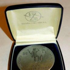 Trofeos y medallas: PRECIOSA MEDALLA DEL 25 ANIVERSARIO DE LA FUNDACION ESPAÑOLA DEL ZINC, MIDE 6 CMS DE DIAMETRO, EN SU. Lote 51099173