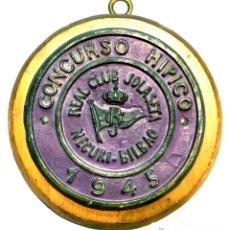 Trofeos y medallas: TROFEO DE EQUITACIÓN - CONCURSO HIPICO - 1945. Lote 51231356