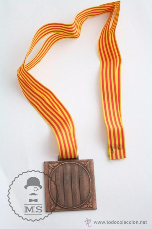 MEDALLA GENERALITAT DE CATALUNYA. DIRECCIÓ GENERAL DE L'ESPORT. JOCS ESCOLARS DE CATALUNYA, 1981 (Numismática - Medallería - Trofeos y Conmemorativas)