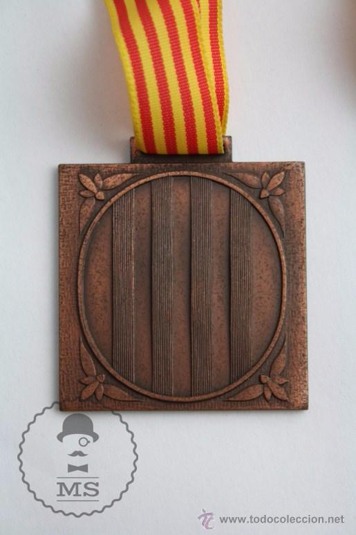 Trofeos y medallas: Medalla Generalitat de Catalunya. Direcció General de l'Esport. Jocs Escolars de Catalunya, 1981 - Foto 2 - 51434083