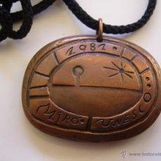 Trofeos y medallas: MEDALLA DE PICASSO. GALARDÓN OTORGADO POR LA UNESCO. Lote 51479766