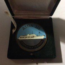 Trofeos y medallas: MEDALLA ESMALTADA AIDA III GUIDED SEA TRAINING. Lote 52023010