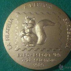 Trofeos y medallas: MEDALLA EXPO ESPORT 89 , DE PUJOL. Lote 176130799
