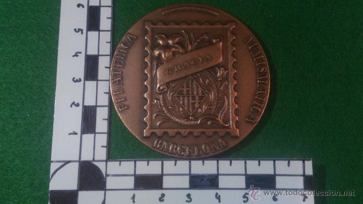 Trofeos y medallas: MEDALLA XLIV EXPOSICIO FILATELICA GRACIA , 1993, JURAT. - Foto 2 - 52345014