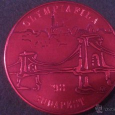 Trofeos y medallas: MEDALLA OLYMPIAFILA , BUDAPEST ' 98. Lote 52347857