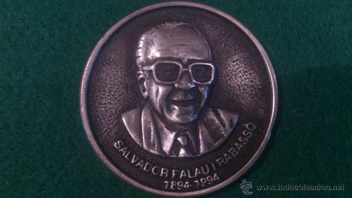 MEDALLA XXVII EXPOSICIO FILATELICA I NUMISMATICA BLANES, 1996 (Numismática - Medallería - Trofeos y Conmemorativas)