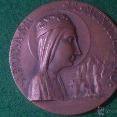 Trofeos y medallas: MEDALLA XLI EXPOSICIO FILATELICA DEL C.F.N.-F.I.M. 1987 BARCELONA, MONTSERRAT. Lote 52362044