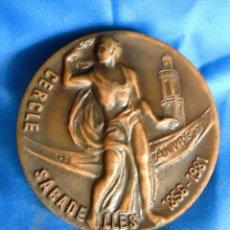 Trofeos y medallas: BONITA MEDALLA 125 ANIVERSARIO CERCLE DE SABADELL DE 42 M/M. Lote 52414767