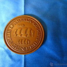 Trofeos y medallas: UNICA Y RARA MEDALLA UNITED STATES OF AMERICA-TALL SHIPS 1976 DE 40 M/M.. Lote 52428852