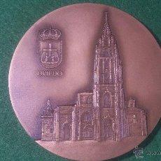 Trofeos y medallas: MEDALLA 60 CONGRESO MUNDIAL, AIPS, OVIEDO 1997. Lote 52505744