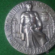 Trofeos y medallas: MEDALLA CENTENARIO DE LA 1ª EXPOSCIO UNIVERSAL DE BARCELONA, 1888-1988. Lote 52520847