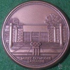 Trofeos y medallas: MEDALLA 1ª FERIA DE COLECCIONISTAS OLIMPICOS, 1994, MUSEE OLYMPIQUE LAUSANNE. Lote 52603482