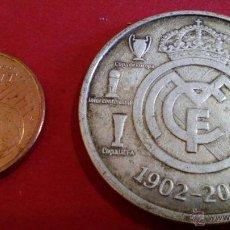 Trofeos y medallas: MEDALLA REAL MADRID CENTENARIO. Lote 52757314