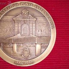 Trofeos y medallas: MEDALLA CENTENARIO PUENTE INTERNACIONAL DETUY. Lote 52977861