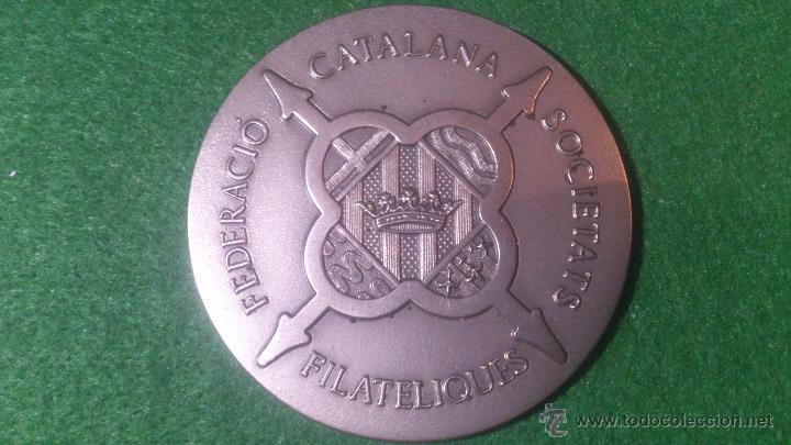 MEDALLA 38 ANIVERSARI ATENEU SANTCUGATENC 1956-1994, F.C.S.F.,PLATA DE LEY, 925. (Numismática - Medallería - Trofeos y Conmemorativas)