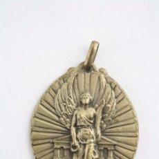 Trofeos y medallas: ANTIGUA MEDALLA DE EL MUNDO DEPORTIVO - ESTILO CLASICISTA - NIKÉ - MEDIDAS 40 X 35 MM. Lote 53427856