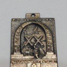 Trofeos y medallas: ITALIA - 24-25-VII-1965 - XX RALLYE INTERNAZIONALE - ALESSANDRIA CASTELLAZO FIN CONI FMI. Lote 53620894