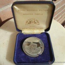 Trofeos y medallas: MEDALLA PRINCIPES DE GALES DE 1981.. Lote 53780599