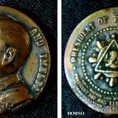 Trofeos y medallas: FERDINAND AND IMELDA. PRESIDENT OF THE PHILIPPINES. 1965. . Lote 54077511