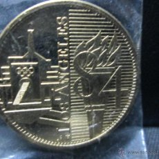 Trofeos y medallas: OLIMPIADAS LOS ANGELES 84. Lote 54163268