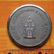 Trofeos y medallas: MEDALLA CAJA DE AHORROS Y MONTE DE PIEDAD MADRID. Lote 54222972