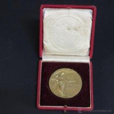 Trofeos y medallas: MEDALLA FIRMADA DE BRONCE ART NOUVEAU. PREMIO DE ANIMALES. ALEMANIA 1913 (BRD). Lote 54399744