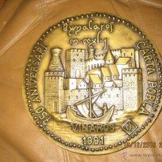 Trofeos y medallas: VINAROS - MEDALLON CONMEMORATIVO - ENVIO GRATIS. Lote 54511198
