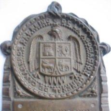 Trofeos y medallas: MEDALLA ASOCIACIÓN GENERAL DE GANADEROS DEL REINO -CONCURSO NACIONAL AÑO 1922 -. Lote 54565324