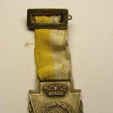 Trofeos y medallas: MEDALLA MARISTAS, ESCUELA DE SARRIÀ, AÑO 1957-1958.. Lote 54571408