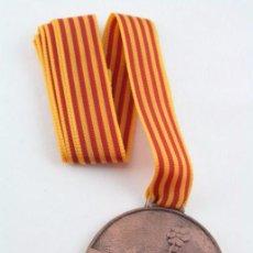 Trofeos y medallas: MEDALLA CIVISME PER UNA CATALUNYA DE TOTS - PREMI A LA PARTICIPACIÓ - GENERALITAT - DIÁMETRO 50 MM. Lote 54632374