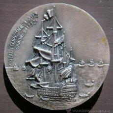 Trofeos y medallas: MEDALLA X SALÓN NAÚTICO INTERNACIONAL BARCELONA 1972, BRONCE - CLC. Lote 54772301