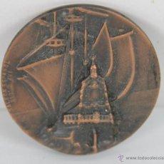 Trofeos y medallas: M-346. MEDALLA EN BRONCE V SALON NAUTICO DE BARCELONA. 1967.. Lote 45624617
