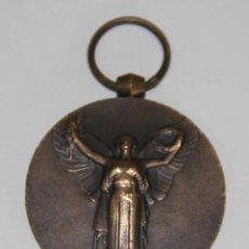 Trofeos y medallas: M-001 -MEDALLA CONMEMORATIVA DE LA I GUERRA MUNDIAL (1914-18). BRONCE. FRANCIA.. Lote 54803674