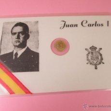 Trofeos y medallas: *TARJETA CONMEMORATIVA-JUAN PABLO I-MONEDA INCORPORADA-NUEVA-COLECCIONISMO-VER FOTOS.. Lote 54864917