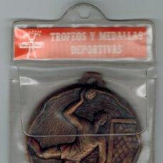 Trofeos y medallas: MEDALLA BRONCE BALONMANO SIN USAR. Lote 55093911