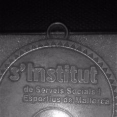 Trofeos y medallas: MEDALLA S´INSTITUT DE SERVEIS SOCIALS I SPORTIUS DE MALLORCA-TROFEO BRONCE-. Lote 56913327