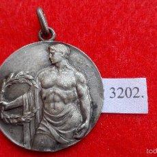 Trofeos y medallas: MEDALLA PRIMER RALLYE FIESTAS DEL PILAR ZARAGOZA 1955. Lote 57268526