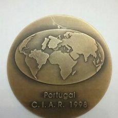 Trofeos y medallas: MEDALLA CONMEMORATIVA DE C.I.A.R (PORTUGAL).. Lote 57461279