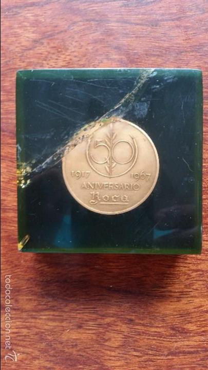 MEDALLA 50 ANIVERSARIO ROCA 1917-1967 (Numismática - Medallería - Trofeos y Conmemorativas)