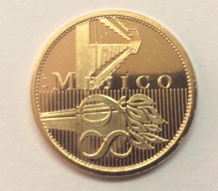 Moneda Commemorativa Juegos Olimpicos Mejico 19 Comprar Trofeos Y