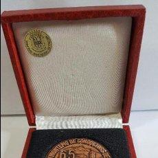 Trofeos y medallas: MAGNIFICA Y ANTIGUA MEDALLA EN BRONC E - NOVA SEU MONTEPIO DE CONDUCTORS DE TERRASSA -. Lote 57719019