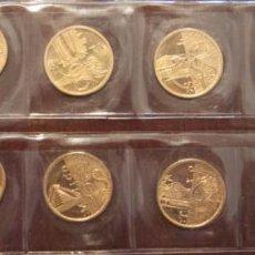 Trofeos y medallas: LOTE 10 MONEDAS OLIMPIADAS 1964 A 2000. Lote 57791745