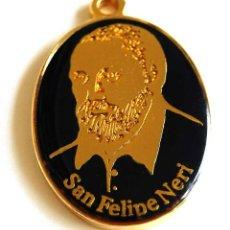 Trofeos y medallas: MEDALLA CONMEMORATIVA DEL IV CENTENARIO DE LA MUERTE DE SAN FELIPE NERI 1595-1995. Lote 57932238