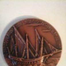 Trofeos y medallas: MEDALLA CONMEMORATIVA XI SALON NAUTICO INTERNACIONAL BARCELONA 1973. Lote 58587288