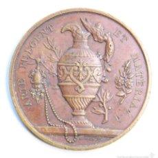 Trofeos y medallas: MEDALLA FRANCESA DE JOYERIA Y ORFEBRERIA 1864. PRECIOSA. Lote 59074005