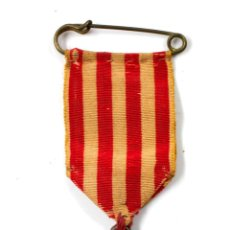 Trofeos y medallas: MEMORIA LÁPIDA A LA CASS AHONT HORI, ANY 1096. CLAVÉ, FUNDADOR SOCIETATS CORALS ESPANYA, 3,8 CM . Lote 60314487